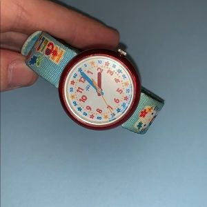 Hello Kitty Flik Flak Vintage Wristwatch